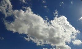 Wypięknia Czystego niebo Fotografia Royalty Free