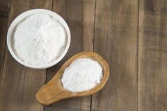 Wypiekowa soda - sodium dwuw?glan Bicarbonato fotografia stock