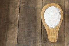 Wypiekowa soda - sodium dwuw?glan Bicarbonato obraz stock