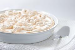 wypiekowa torta formy beza Zdjęcie Royalty Free