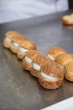 Wypiekowe i kulinarne pustynie czekolady i cukierki Zdjęcia Royalty Free
