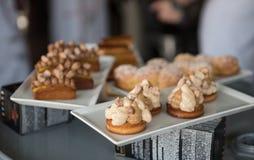Wypiekowe i kulinarne pustynie czekolady i cukierki Zdjęcie Royalty Free