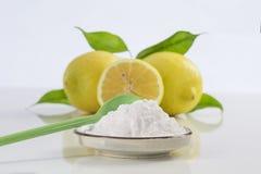 Wypiekowej sody sodium dwuwęglan Leczniczy i gospodarstw domowych Uses obrazy stock