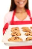 wypiekowi układ scalony czekolady ciastka Zdjęcie Royalty Free