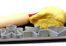wypiekowy filiżanek ciasta szpilki kołysanie się Obraz Royalty Free