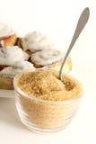 wypiekowy surowy cukier Obraz Stock