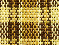 Wyplata bambusową teksturę lub tło Zdjęcia Stock