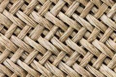 Wyplata deseniowego tło Wyplata teksturę dla projekta Makro- widoku Obrazy Stock