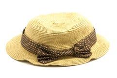 Wyplata kapelusz Zdjęcia Royalty Free