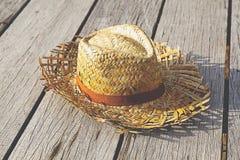 Wyplata kapelusz Zdjęcie Stock