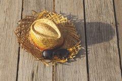 Wyplata kapelusz Fotografia Stock
