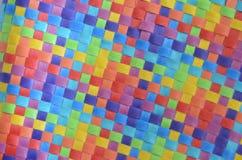 wyplatająca kolorowa tekstura Obrazy Royalty Free