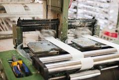 wyplatający fabryczny torba warsztat Fotografia Royalty Free