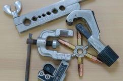 Wyposażeń narzędzia dla lotniczego naprawiania Zdjęcie Royalty Free