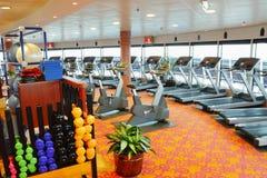 wyposażenia gym Fotografia Royalty Free