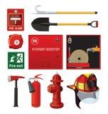 wyposażenia pożarnictwo royalty ilustracja