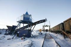 wyposażenia przemysłowa nowa przerób ropy naftowej strefa Zdjęcia Royalty Free