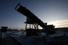 wyposażenia przemysłowa nowa przerób ropy naftowej strefa Obrazy Royalty Free