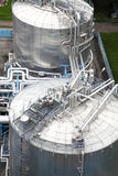 wyposażenia przemysłu instalaci olej Obrazy Stock