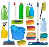 wyposażenia sprzątanie Obraz Royalty Free