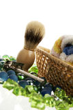 wyposażenia starej szkoły golenie obraz stock