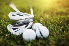 Wyposażenie dla bawić się golfa zdjęcie stock