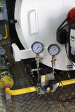 wyposażenie domu gazu z kotłów Zdjęcie Stock