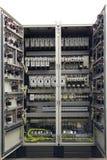 Wyposażenie elektryczny gabinet zdjęcie stock
