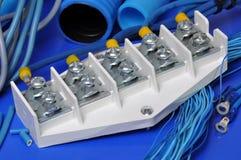Wyposażenie i akcesoria dla elektrycznych instalacj Zdjęcie Royalty Free