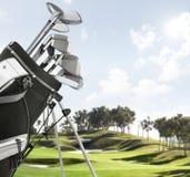 wyposażenie kursowy golf obraz stock