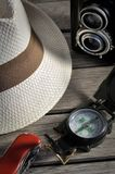 wyposażenie podróżnik Fotografia Stock