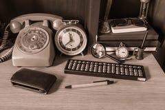 Wyposażenie używać na stole Zdjęcie Stock