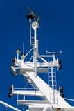 wyposażenia nawigaci statek Fotografia Royalty Free