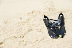wyposażenia snorkel Obrazy Stock