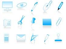 wyposażenie biurowe Ilustracji