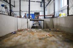Wyposażenie dla przerobu klingerytu odpady w fabryce Zdjęcie Royalty Free