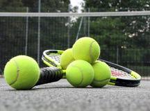 wyposażenie dworski tenis Zdjęcie Royalty Free