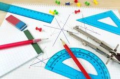 wyposażenie geometria Zdjęcie Stock