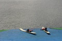 wyposażenie narty wody Zdjęcia Royalty Free