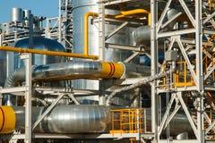 Wyposażenie przerób ropy naftowej Obrazy Stock