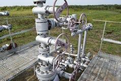 Wyposażenie szyb naftowy Obraz Royalty Free