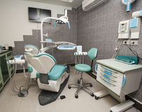 Wyposażenie w dentysta operaci Obraz Stock