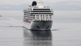 Wyprawa Pasa?erskiego liniowa Viking Orion ?eglowanie w oceanie spokojnym Czasu up?yw zdjęcie wideo