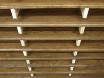 wyprodukowany dręczący drewno Obraz Stock