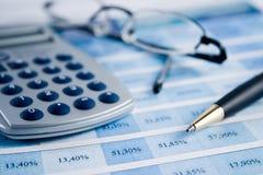 wyrównać rachunków Zdjęcie Stock