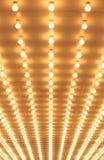 Wyrównujący teatrów światła Chicagowski teatr Obrazy Stock