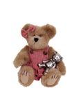 wyrównywał uściśnięć potrzeby teddys Zdjęcie Royalty Free