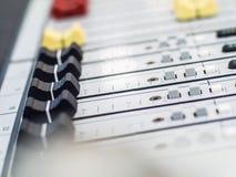 wyrównywacz gałeczki na panelu w użyciu Zdjęcia Stock