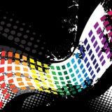 wyrównywacza grafiki waveform Obrazy Stock