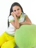 wyrażeniowy dziewczyna hindus cichy Fotografia Royalty Free